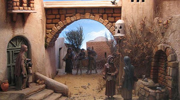 Dioramas. Iglesia Santiago