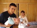 Papá con Sergio y Elena con Alejandro - 23